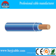 Thhn Building Wire Nylon Jacket PVC Câble de gaine extérieure