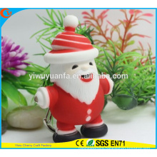 High Quality Novelty Design Christmas Assorted Sound Activated LED Keychain