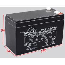 Batería de plomo sellada sin mantenimiento DJW12-7.0