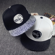 Customize Cap Flat Brim Hat Baseball
