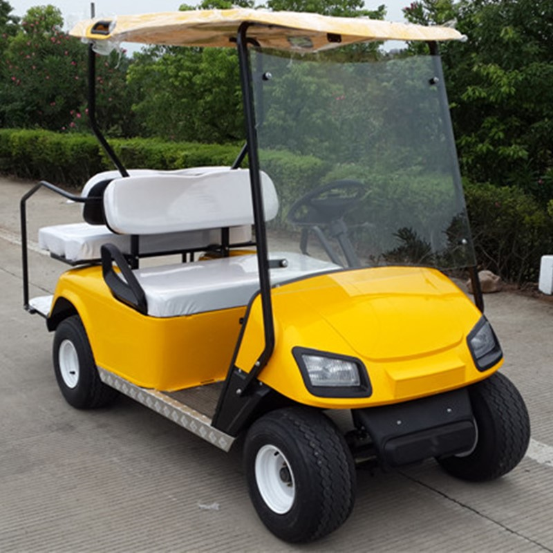 electric 2+2 seat golf cart