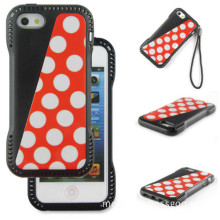 Shining TPU Leather Case for iPhone 5s