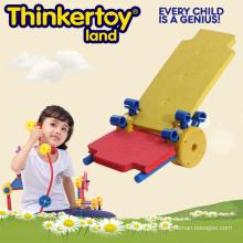 DIY Strand Stuhl Modell Kinder Magnetische Spielzeug Blöcke Bildung Spielzeug