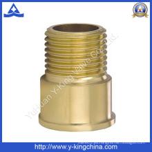 """1/2 """"conector de extensión macho de latón de ajuste (YD-6011)"""