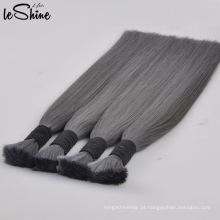 Volume louro do cabelo humano do Virgin dos produtos retos de seda humanos do russo nenhuma trama