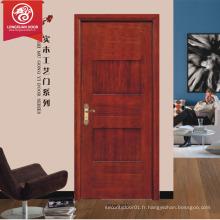 Bonne vente de porte de cuisine en PVC / porte en bois à poser / porte blister