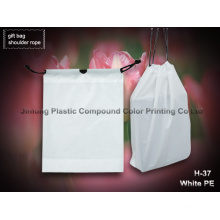 Plastic Shoulder Carrier Packaging Bag