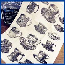 Натуральный 100% льняной чайный полотенце (QHD99812)