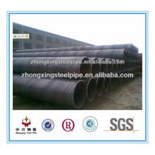 matériaux st 37-2 spirale Welded Steel Pipe