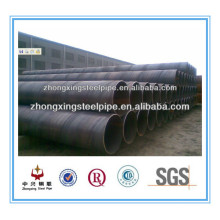 material st 37-2 espiral soldada aço tubo