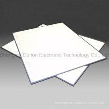 Placa acrílica branca fria Placa clara da placa do diodo emissor de luz / guia