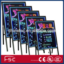 Low price led writing board for promotional advertising