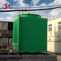 Rectángulo frp torre del sistema de la torre de enfriamiento para el tratamiento del agua