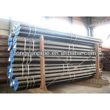 high quality steel pipe in stock & astm a179 Gr B steel pipe
