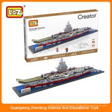 LOZ chino portaaviones Liaoning ladrillo ladrillo de construcción para niños