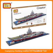 LOZ Chinese aircraft carrier Liaoning building block brick toy for children