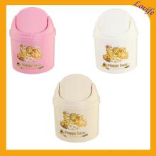 Cubo de plástico mini plástico de almacenamiento de labios (FF-5012-3)