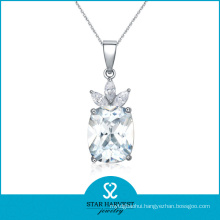 AAA Wholesale Diamond Necklace Rhodium Plated Necklace Jewellery (J-0121N)