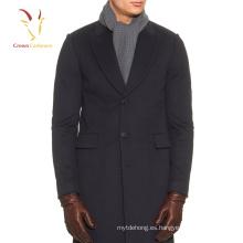 Bufanda para hombre de la bufanda del ganchillo de la lana del cachemira que hace punto al por mayor