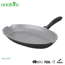 Die Cast Home Cook Fish Shape Fry Pan
