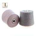 Topline brushed 80% cashmere nylon felt fancy yarn