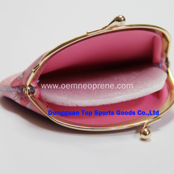 Promotional Neoprene Coin Purse With Custom Logo