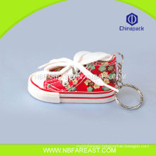 Hot selling factory wholesale tennis shoes keychain