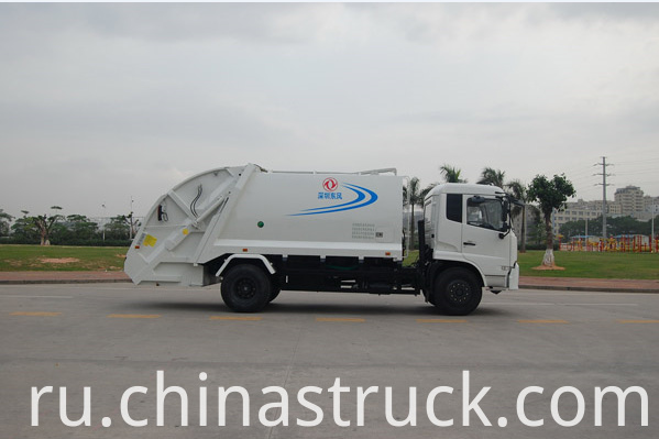 Dongfeng 15CBM compression garbage truck