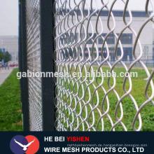 Verzinkter Kettenglied Zaun / Kettenglied Zaun zum Verkauf Fabrik