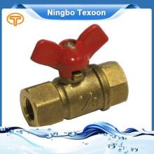 Válvula de esfera de ângulo de bronze mais barato e de alta qualidade