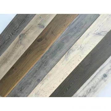 Pisos de madera con diseño de roble colorido