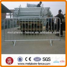 Segurança PVC revestido protable barreira controle multidão