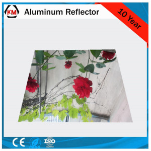 aluminum mirror sheet reflector