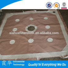 Filter cloth red color for filter press