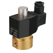 Válvula electromagnética abierta Normal de alta presión (KS-40)