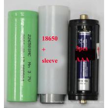 Batería 22650 & 18650 y AAA