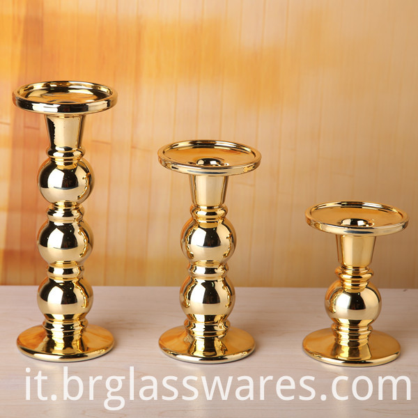 Set of 4 Candlestick holder 4