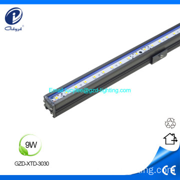 Iluminación lineal LED impermeable 9W IP65