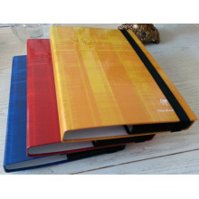 Custom Printing Paper File Folder Box with Elastic Band
