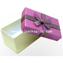 Custom Set up Packaging Gift Paper Box with Ribbon