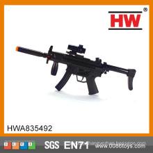 Самые популярные продукты Пластмассовый проблесковый огонь пушки B / O Электрический пушка игрушки младенца