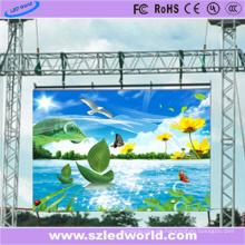 Proveedor a todo color al aire libre de China del tablero LED de la pantalla LED de alquiler P8