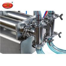 Usine Direct Sales deux têtes semi automatique machine de remplissage liquide