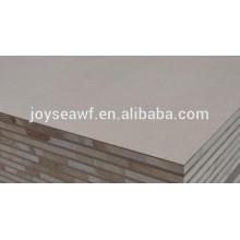4 * 8ft em bruto / plain blockboard com grau de mobiliário