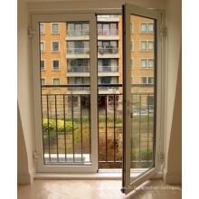 Porte patio moderne en aluminium