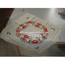 Ropa de mesa de encaje con borde de algodón 9039