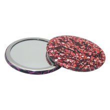 Promotional 58mm or 75mm Pocket Mirror for Girls