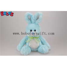 Blue Bunny Stuffed Animal Plush Toy with Long Arm and Big Feet Bos1149
