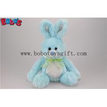 Синий Bunny Фаршированные Animal Плюшевые игрушки с длинной рукой и большие ноги Bos1149