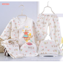 El bebé recién nacido imprimió la ropa del niño 5PCS